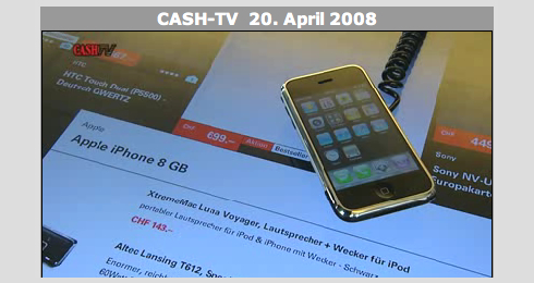 iPhone CASH TV