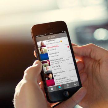 Die App von Swisscom: iO