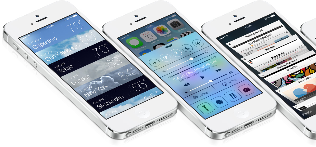 Control Center in iOS 7