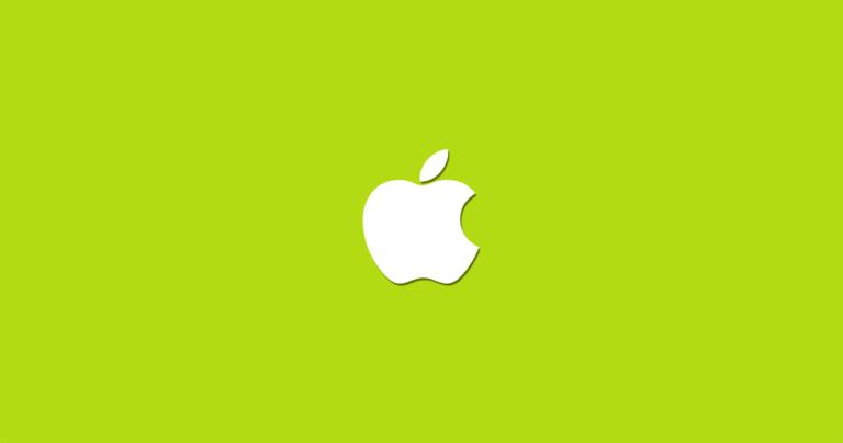 Umweltschutzbericht von Apple zum Earth Day