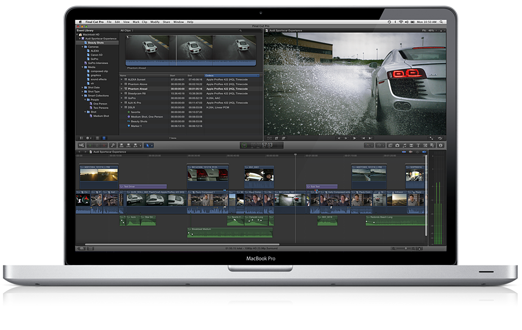 Update für Final Cut Pro X, Motion und Compressor.