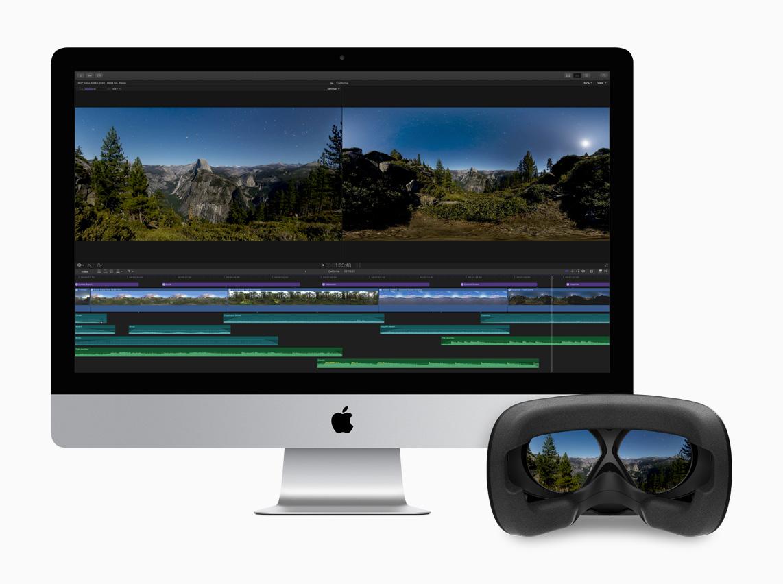 Final Cut Pro X kann jetzt 360-Grad-VR-Videobearbeitung.