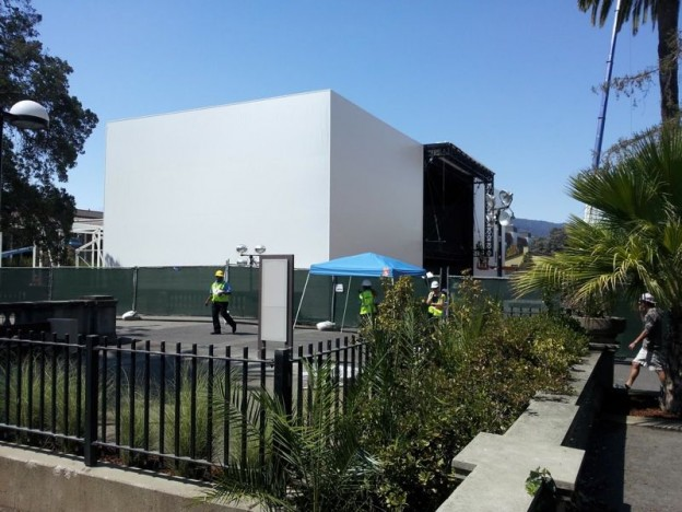 Apple iPhone 6 Event Stage