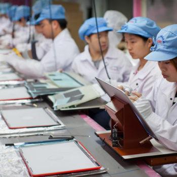 FLA und Apple kontrollieren Foxconn