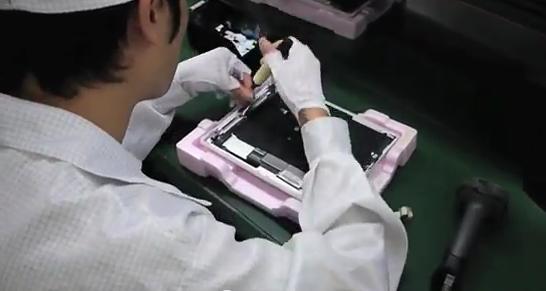 iPad Fertigung bei Foxconn