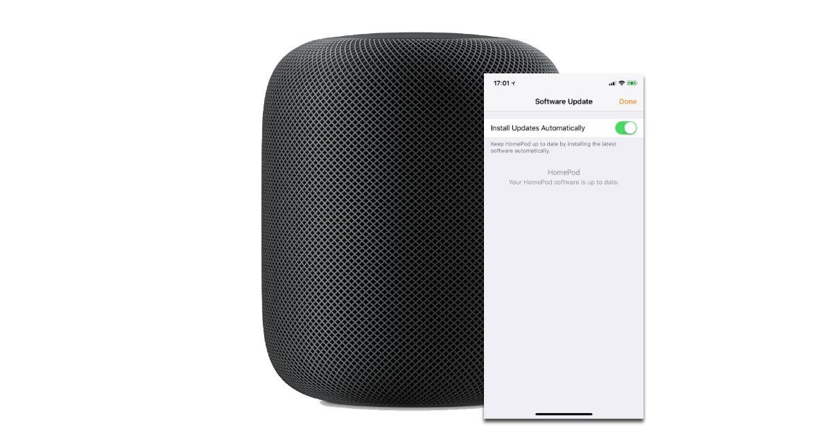 HomePod Software Updates kommen über die Apple Home App.