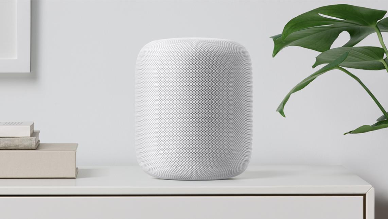 HomePod bringt Musik und Siri in's Wohnzimmer.