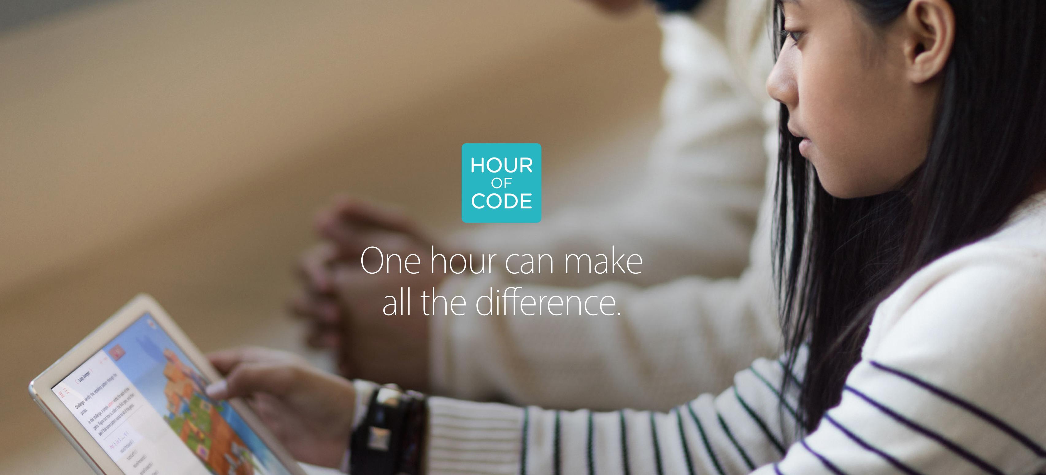 Kostenlose Hour of Code-Workshops vom 5. bis 11. Dezember in jedem Apple Store.