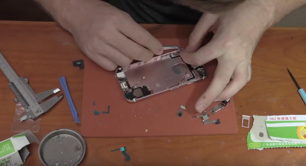 How i made my own iPhone 6S