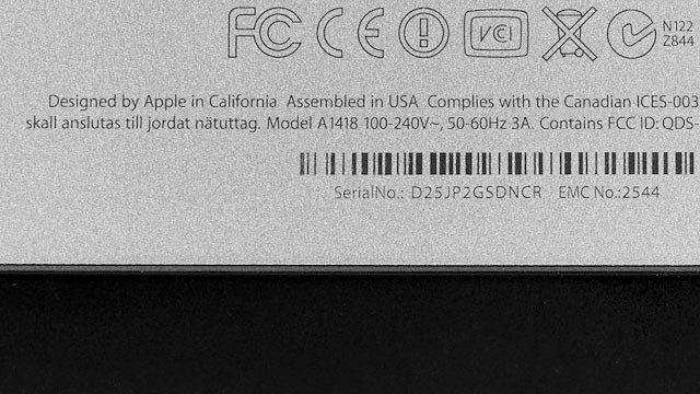 iMac – Assembled in USA
