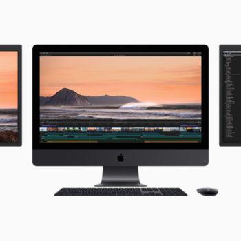 iMac Pro mit weiteren Displays