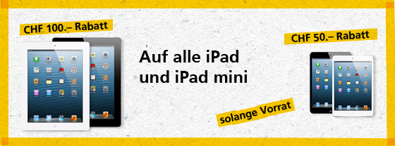 iPad Aktion