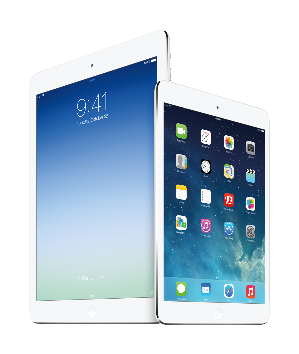 iPad Air oder iPad mini?