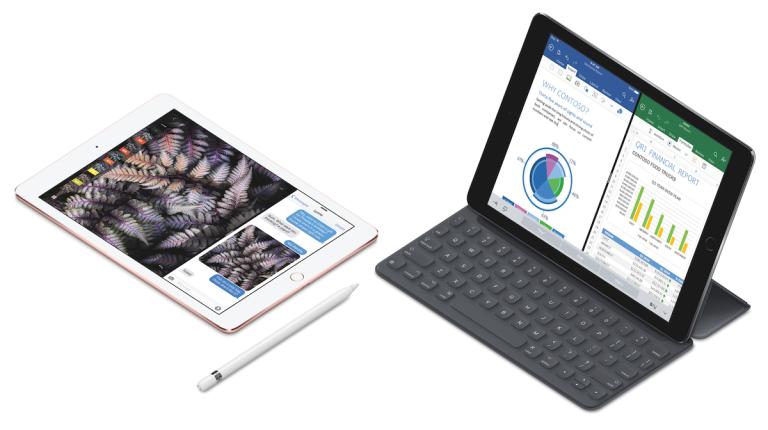 iPad Pro 9,7-Zoll Smart Keyboard und Apple Pencil