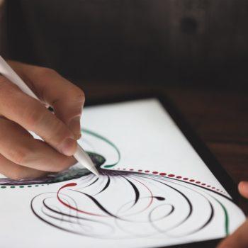 Zeichnen auf iPad Pro mit dem Apple Pencil