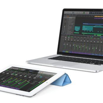 Logic Pro X mit iPad