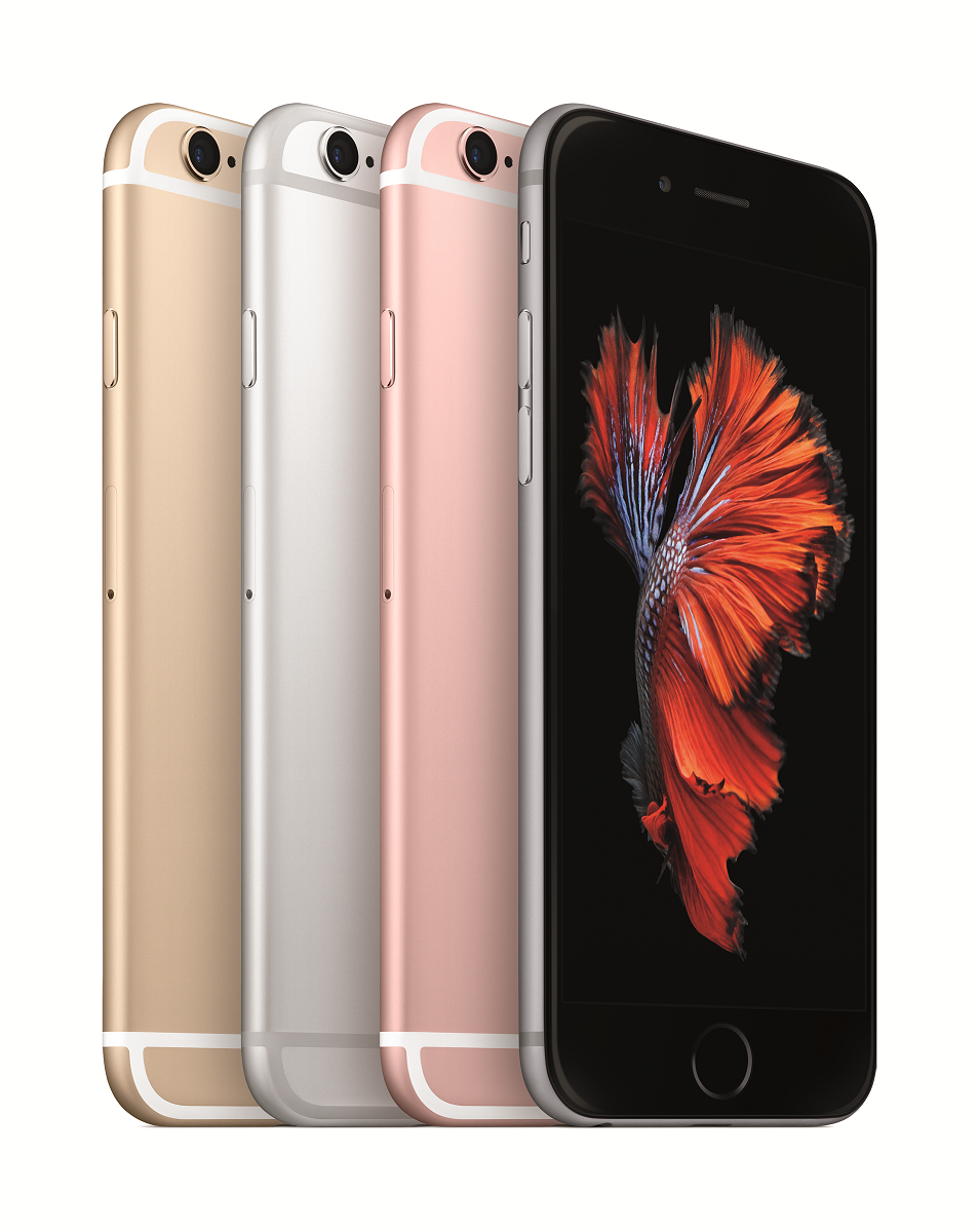 iPhone 6s und iPhone 6s Plus mit 3D Touch.
