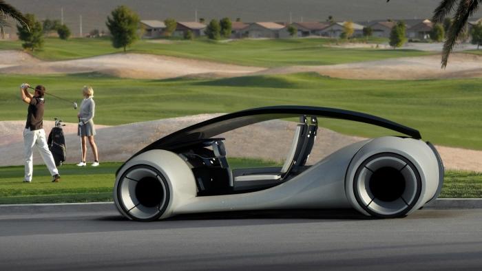 iCar – So könnte ein Auto von Apple aussehen