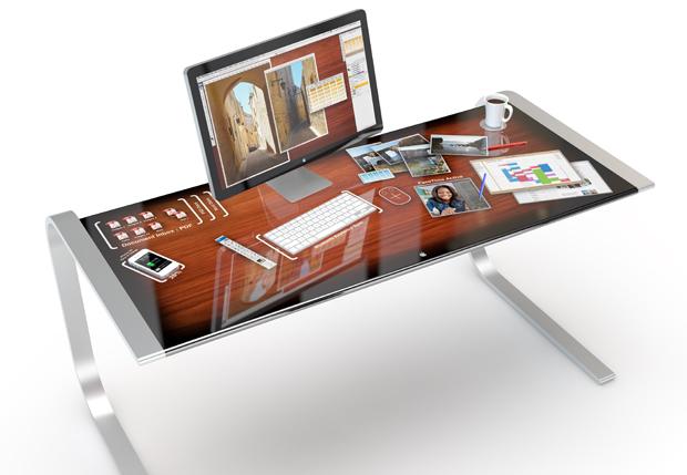 iDesk – Wenn der Schreibtisch mit dem iMac kommuniziert