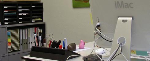 iMac im Büro