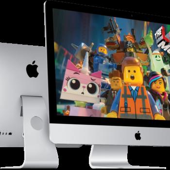 Lego Movie auf iMac