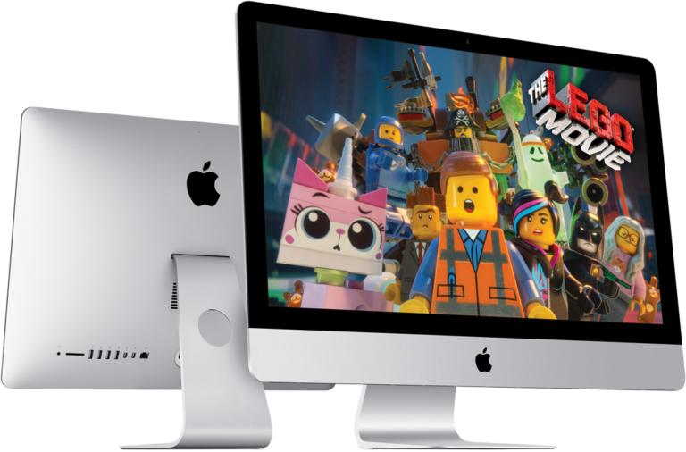 Lego Movie auf iMac
