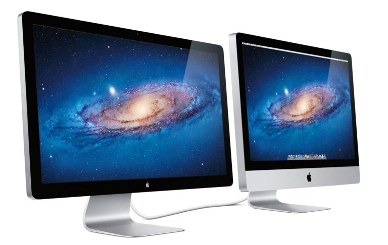 iMac und Thunderbolt Display