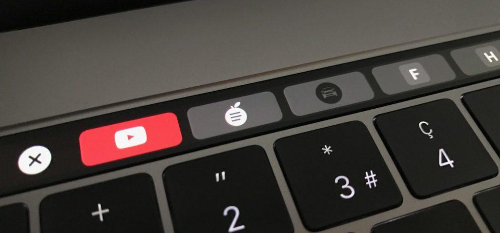 Das neuen MacBook Pro mit Touch Bar