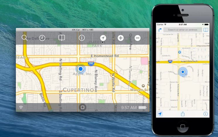 iOS in the Car Video