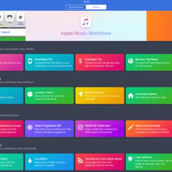 Workflow App von Apple gekauft