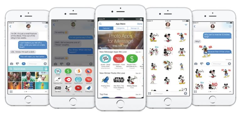 iOS 10 iMessage