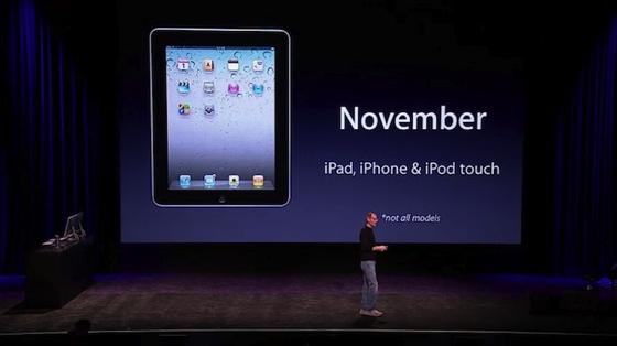 iOS 4.2 im November