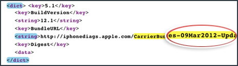 iOS 5.1 - 9. März 2012
