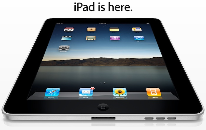 iPad is here.