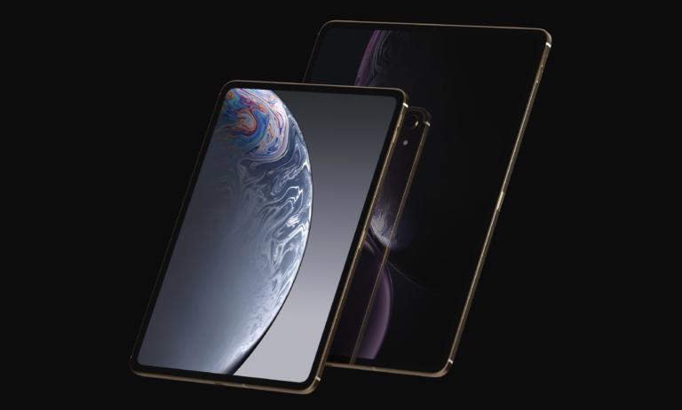 iPad Pro Mockup 2018