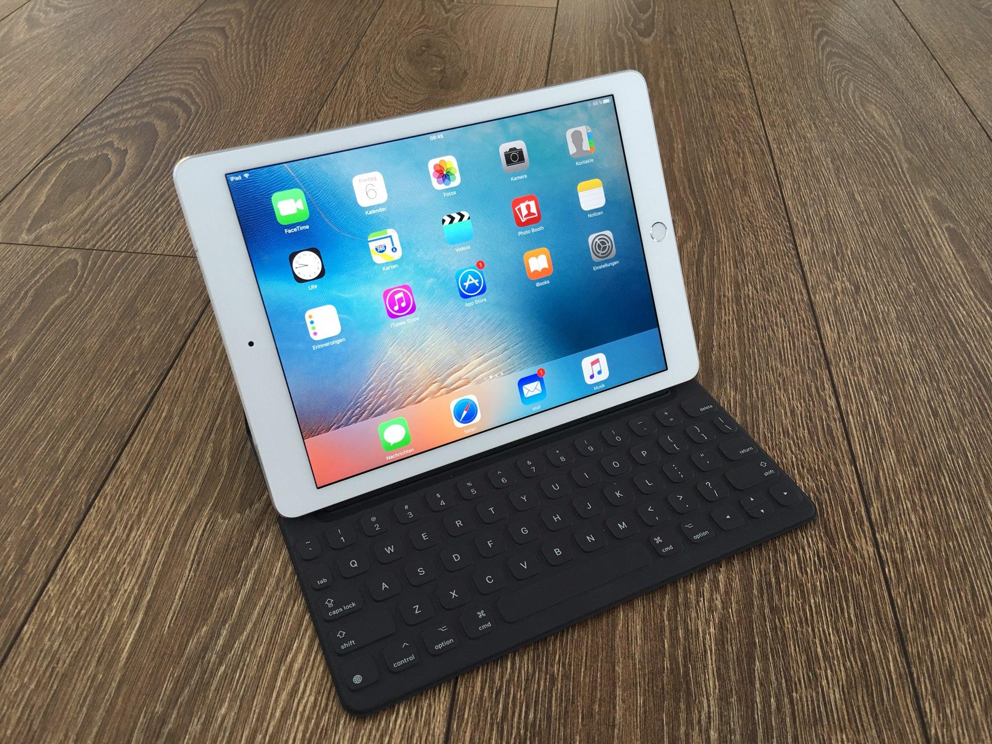 Das kleine iPad Pro ganz gross.