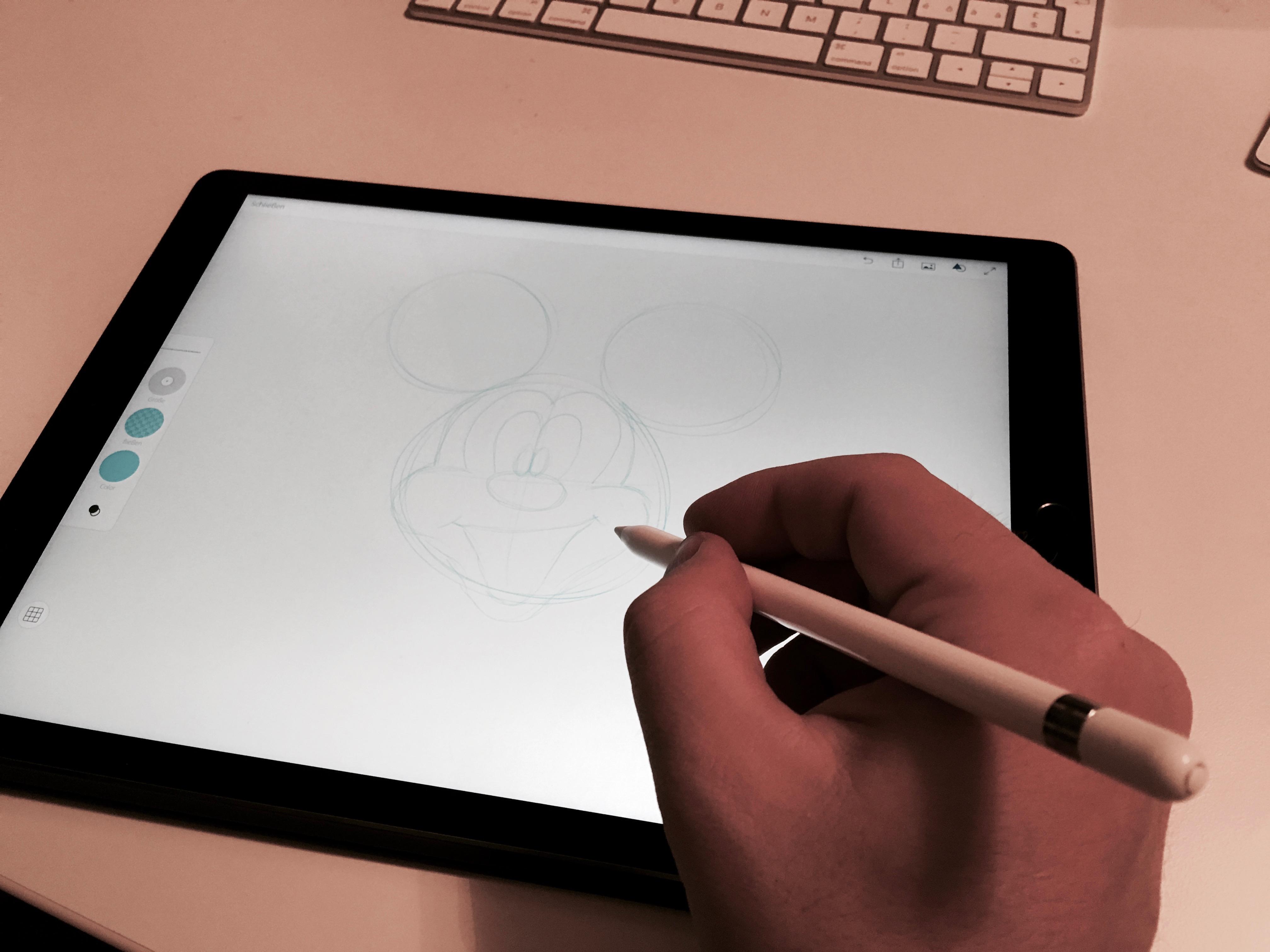 Mein erster Eindruck: iPad Pro und Apple Pencil.