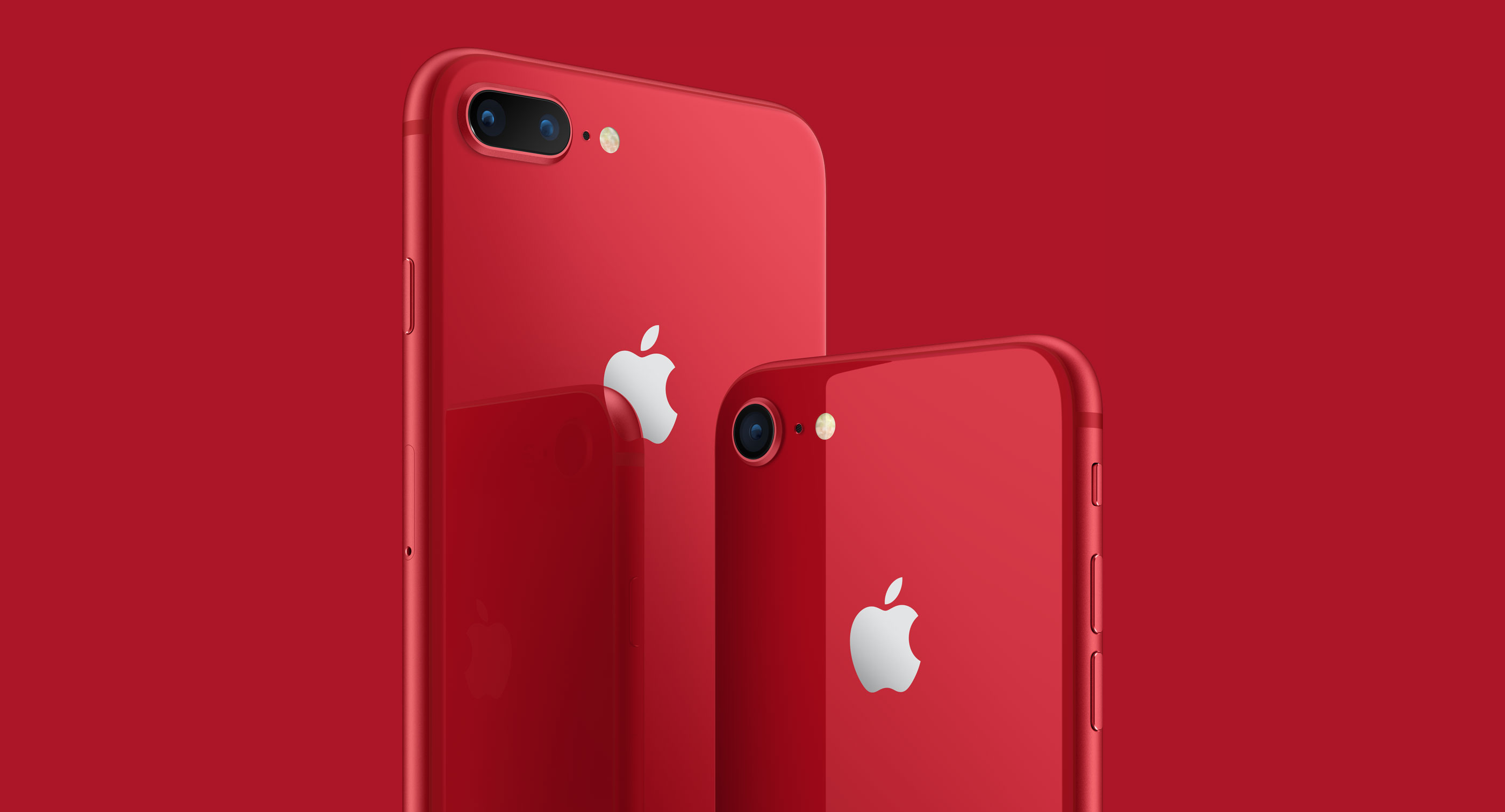 iPhone 8 und iPhone 8 Plus als (PRODUCT)RED bei Apple