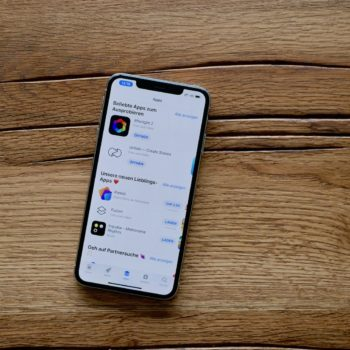 Apple App Store auf dem iPhone XS Max
