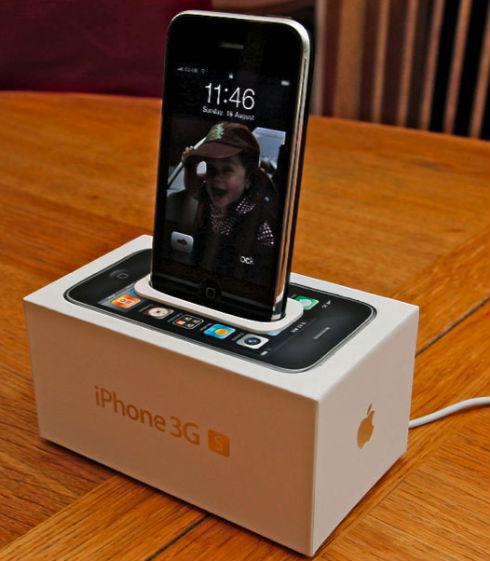 iPhone Doch aus der iPhone-Schachtel basteln