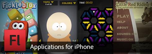 iPhone App Development mit Flash CS5