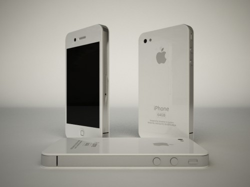 iPhone HD in Weiss