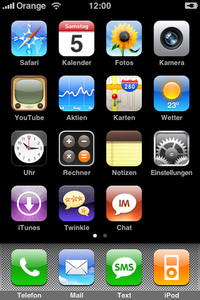 Icons im iPhone