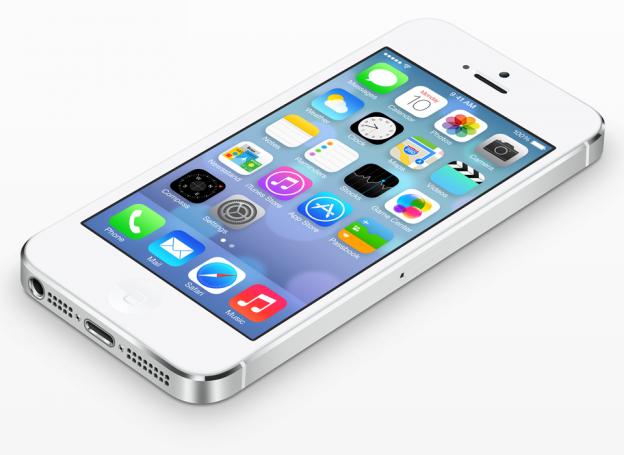 iOS 7 auf iPhone 5