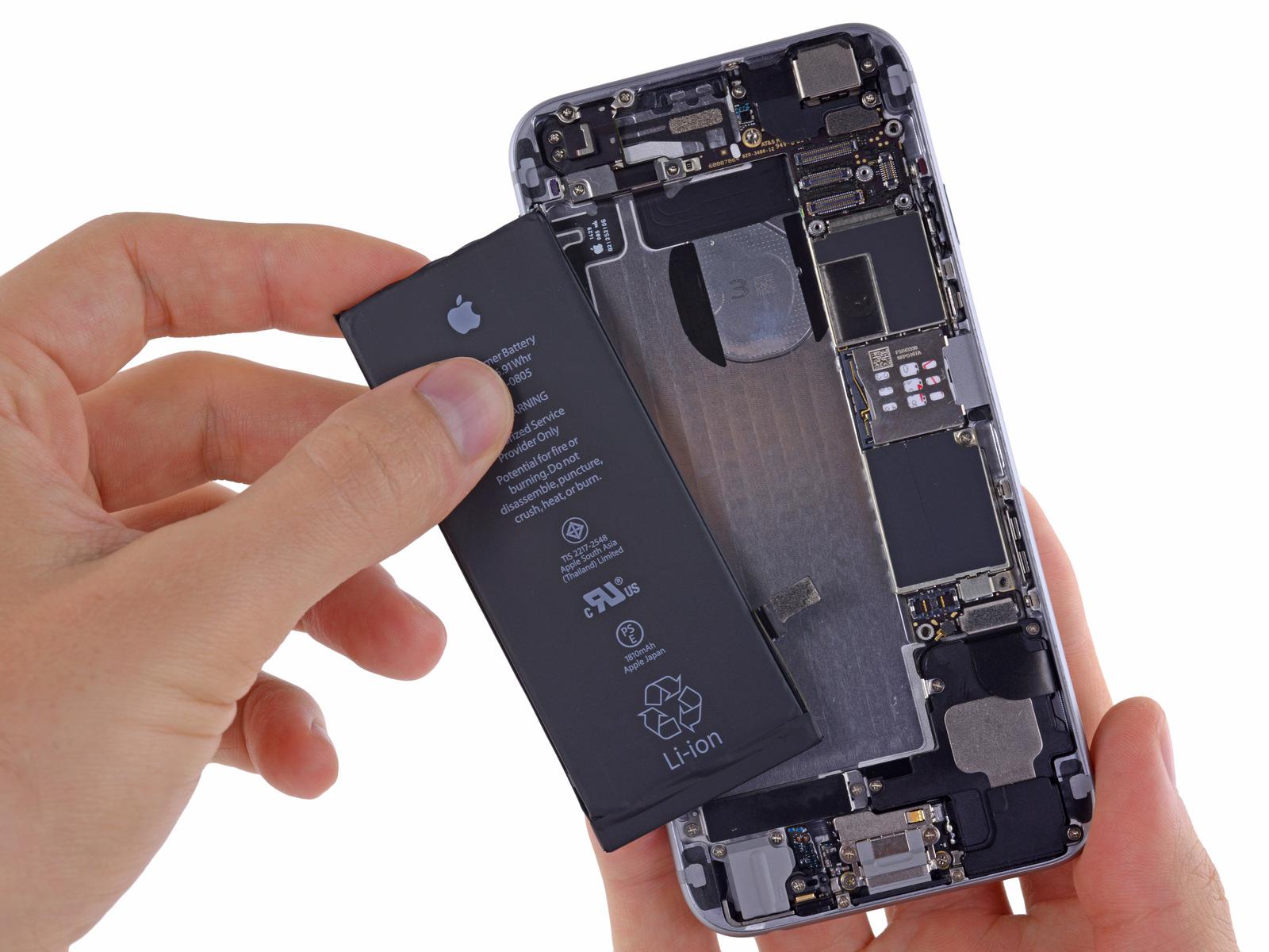 Batterie-Austausch beim iPhone 6