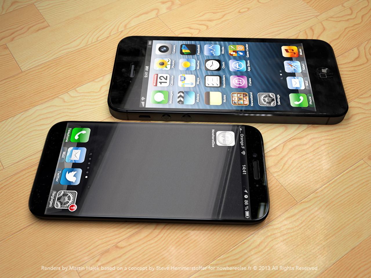 iPhone 6 erhält 2014 ein grosseres Display. Vielleicht.