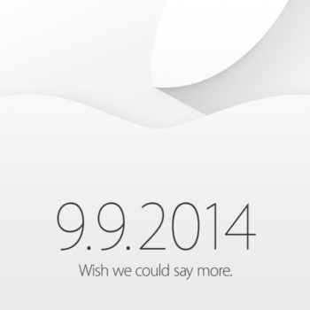 iPhone 6 Event - Wish we could say more.