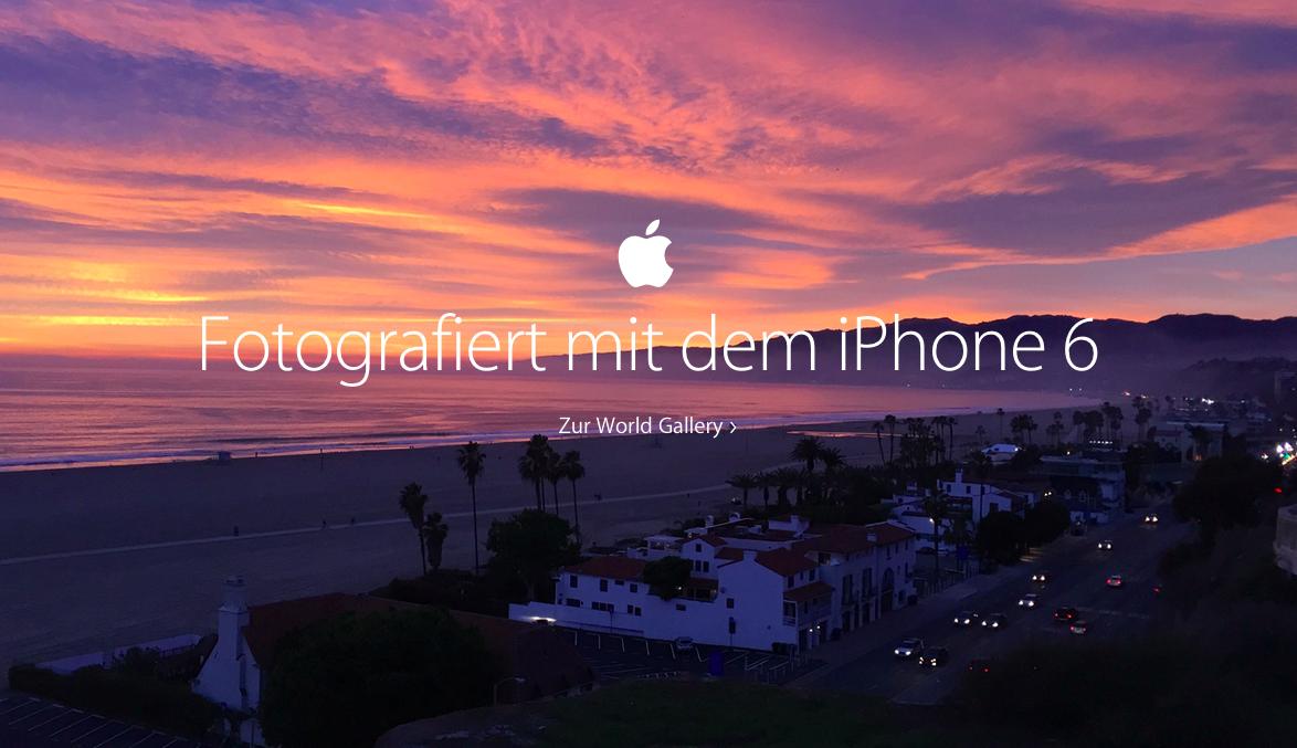 Mit dem iPhone 6 wunderbare Bilder fotografieren.