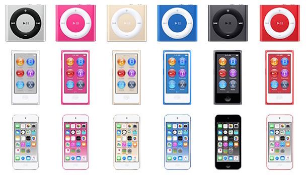 Neue iPods in 2015