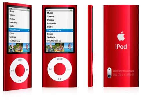 iPod nano RED